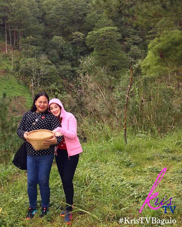 PHOTOS: KrisTV goes to Baguio