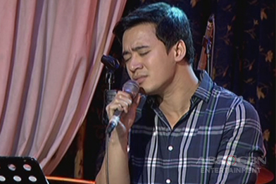 Erik Santos sings She's Out Of My Life